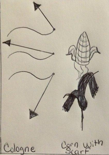 Cologne corn scarf