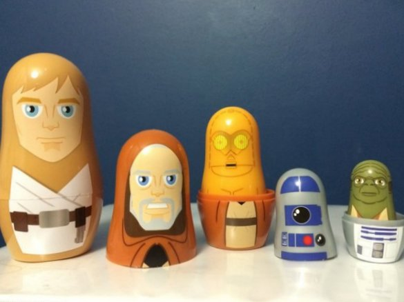 Star Wars nesting doll