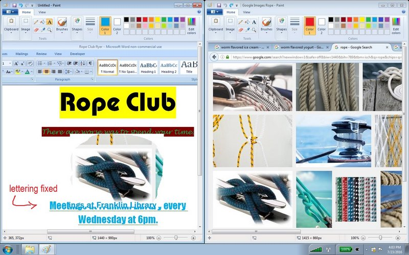 rope5 flyer and google images dual windows cutout moved with words replaced