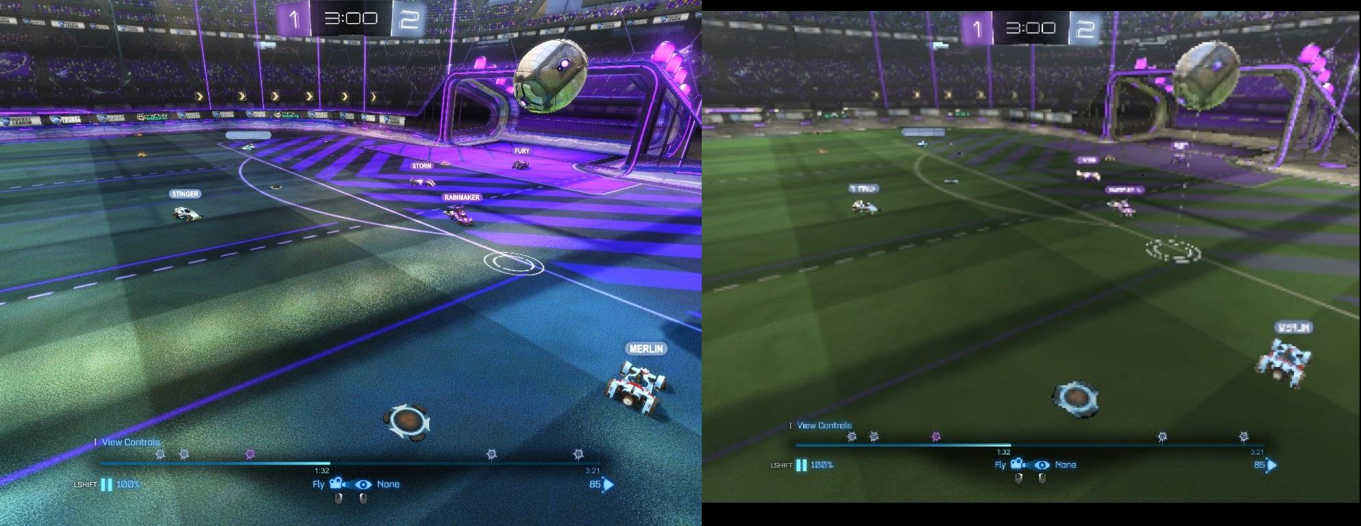 overshoulder goal both