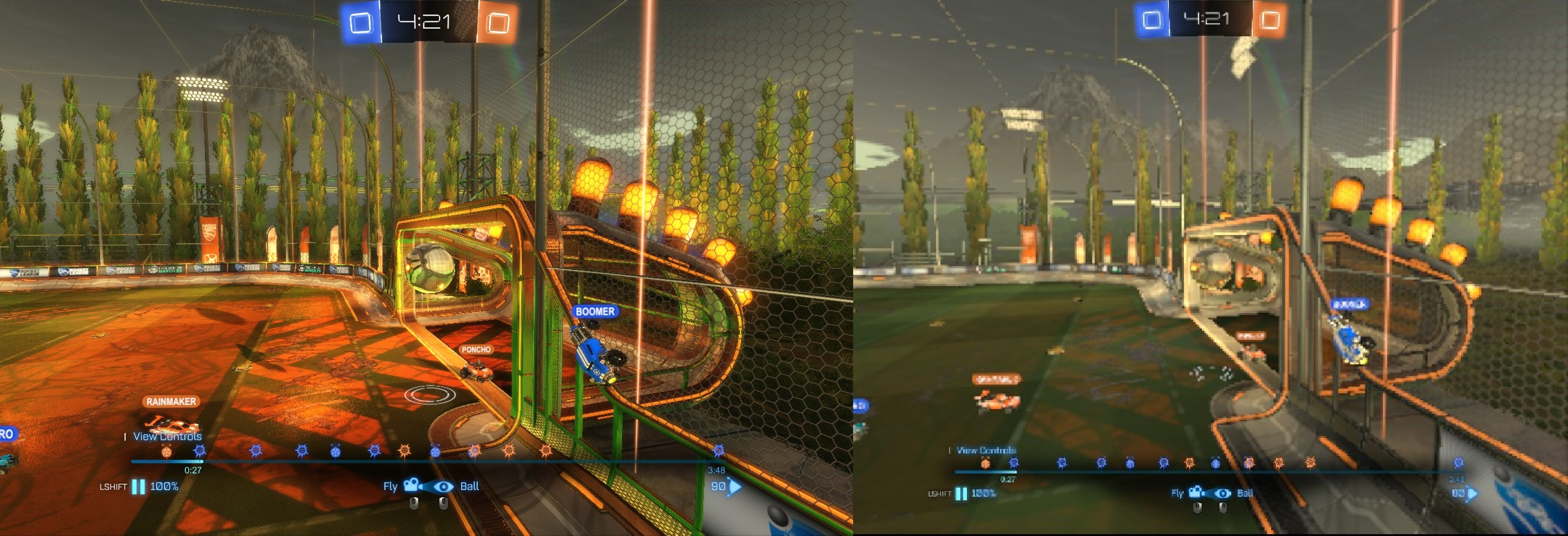 sideways goal both