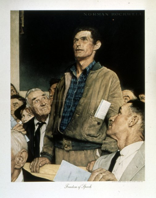 Norman Rockwell Stand up