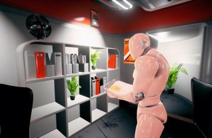 RobotOrangeStripe
