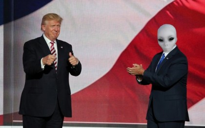 Trump and Aliens