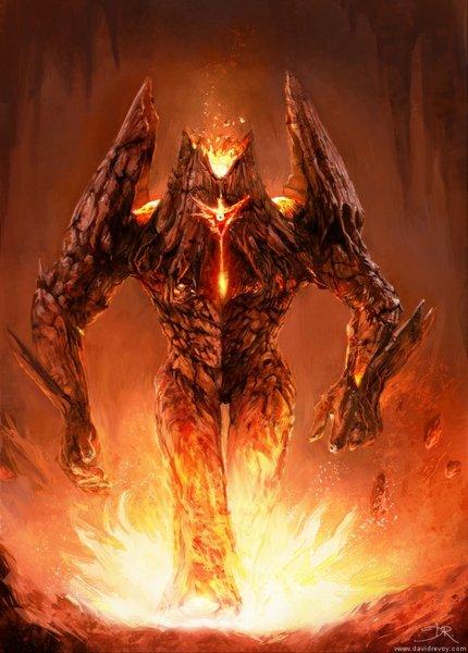 balmut 1 - Volcano-monster_by_David_Revoy