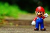 Super mario saved world in leather shoes