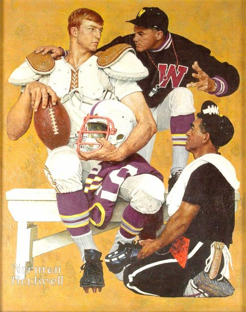 Norman Rockwell know how to score