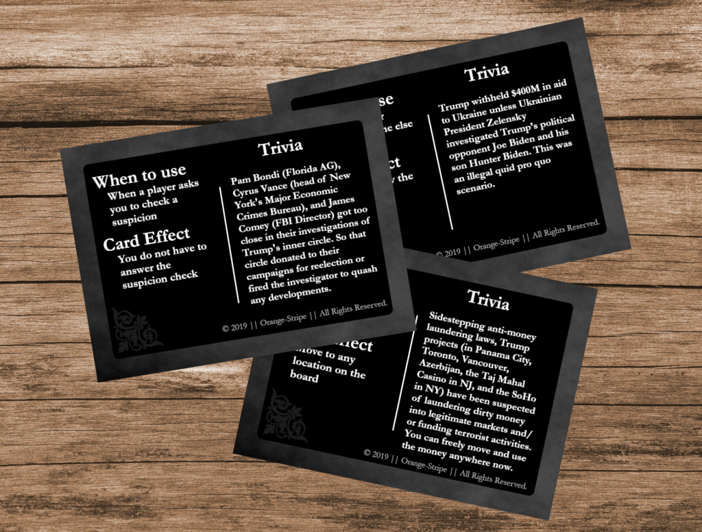 Some Plot Twist Cards for Article2